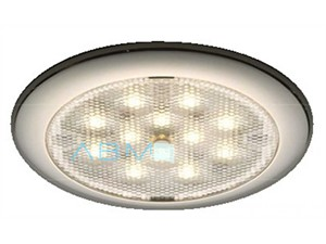 Plafoniera LED day/night - bianca/blu 12/24v