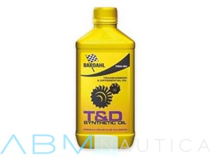 Olio Bardahl T & D Synthetic Oil 75W-90