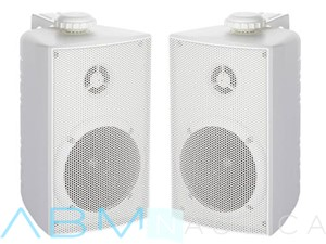 Casse stereo a 2 vie serie CABINET - Bianche -