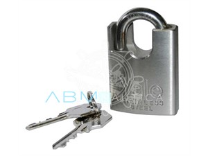 Padlocks in stainless steel