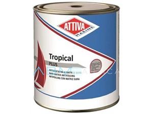 Antivegetativa matrice dura Attiva Tropical PLUS - 2,5 lt. Nera