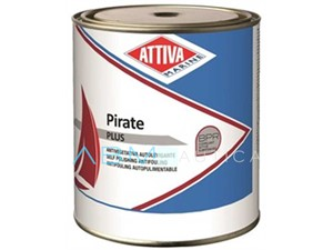 Antivegetativa autolevigante Attiva Pirate PLUS - 2,5 lt. Nero