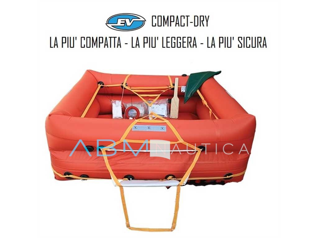 Coastaldry Eurovinil Raft within 12 miles - 6 seats -