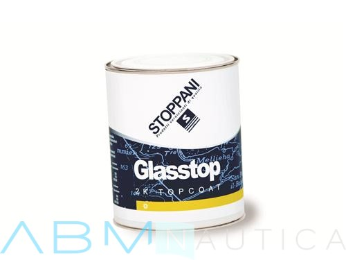 Two- components Stoppani Glasstop Enamel-White