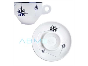 Set caffè melamina Marine Business NORTHWIND - 6 px -