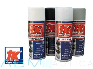 Antivegetativa TK spray per metalli - Nero -