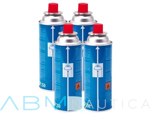Kit of 4 gas cylinders for portable hotplate