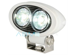Faro LED HD 2x5W da roll-bar orientabile