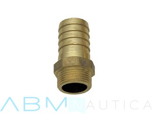 Portagomma filetto maschio in ottone - 1/2 x 16 mm -