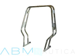 Roll Bar doppio tubo Sagomato 40 mm