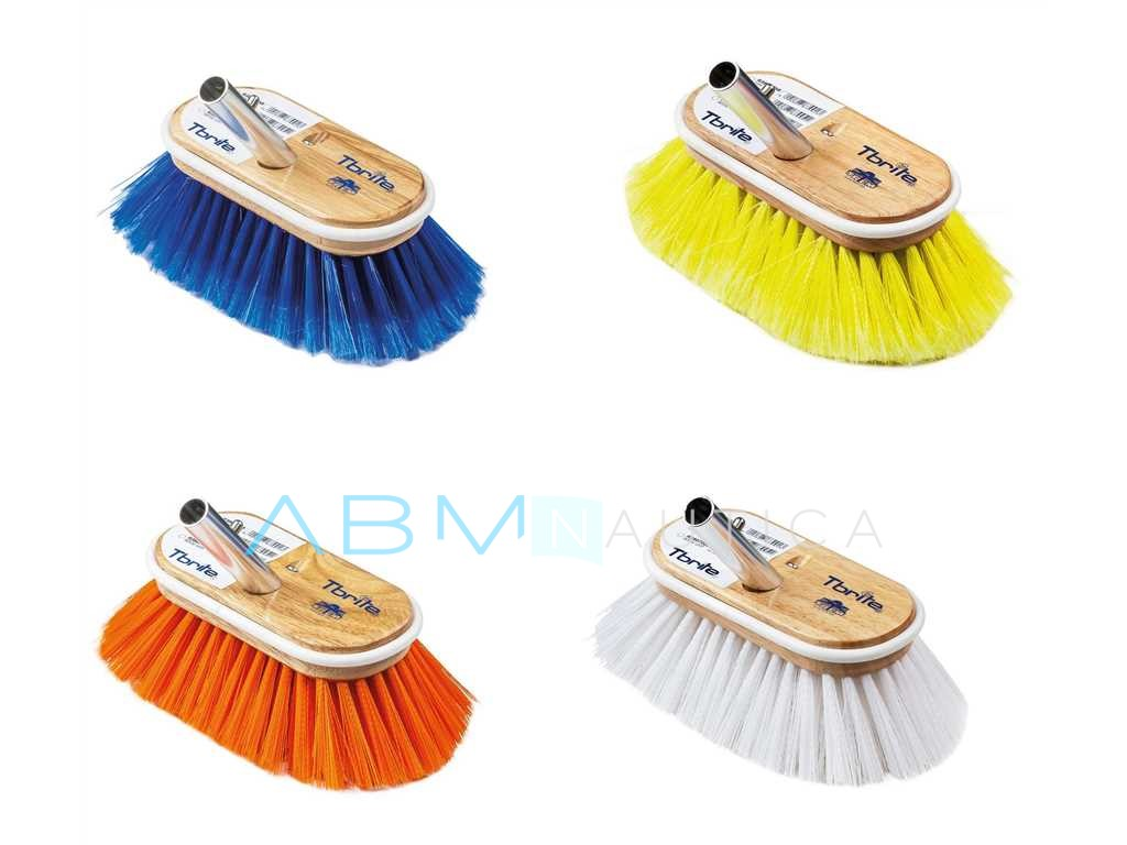 DeckMate scrubbing brush and handles